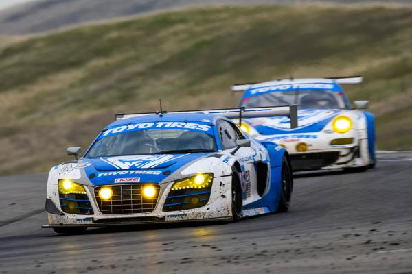 Toyo Tires / Flying Lizard Audi, Winner of the 2016 USAF 25-Hours of Thunderhill™