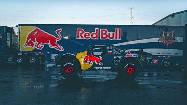 Bryce Menzies' Red Bull / Toyo Tires trophy truck