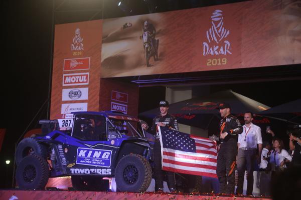 Blade Hildebrand, Winner of the OP.1 Class in Dakar® 2019