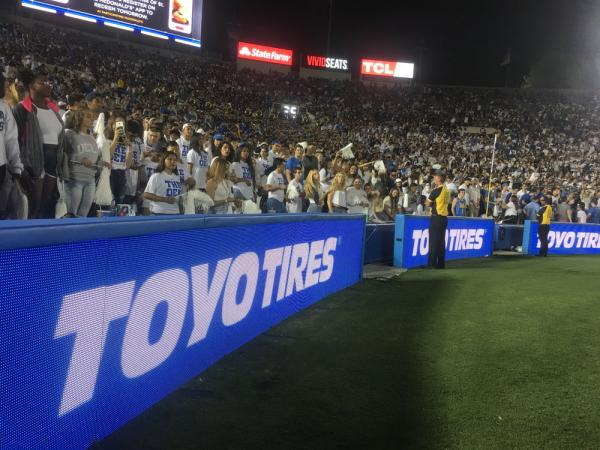 Official Tire of UCLA Athletics and the Rose Bowl® Stadium