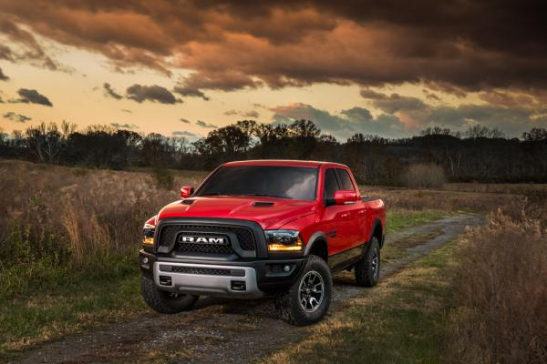 Ram® Rebel® equipped with Toyo® Open Country® A/T II