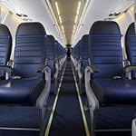 Image of CRJ700 United Economy Plus seats