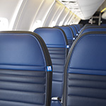 Image of CRJ700 United Economy seats