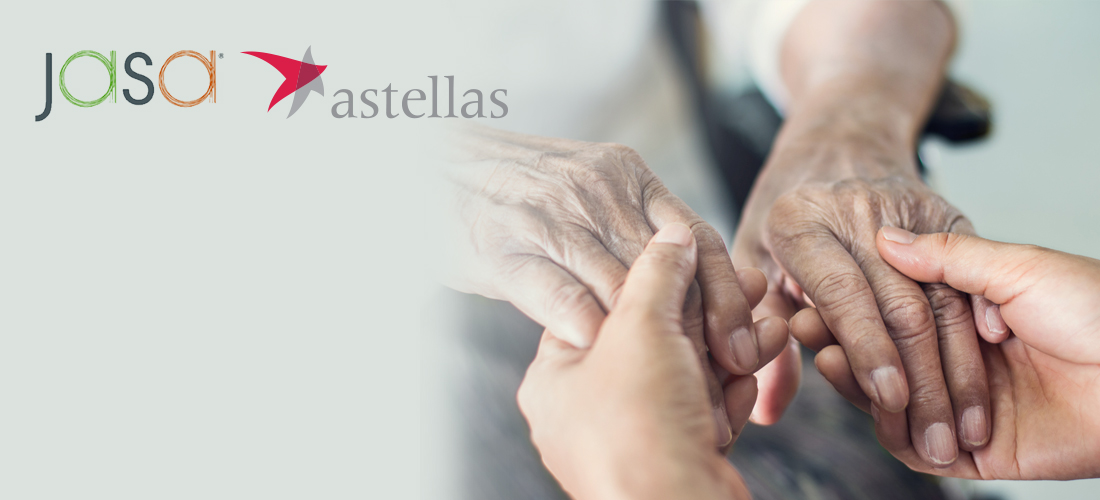 Astellas Announces Collaboration with the Jewish Association Serving the Aging (JASA) to Improve Chronic Disease and Bladder Health Management