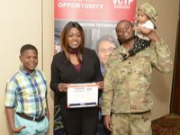 Veteran is awarded a ivmf education grant for onward to opportunity from wounded warrior project