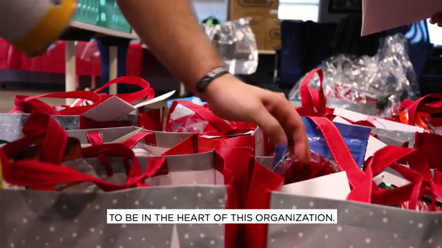 WWP Gifts Holiday Food Baskets to Warrior Families