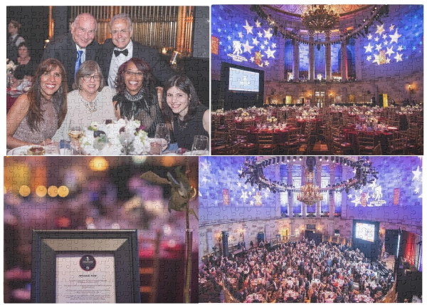The Courage Awards & Benefit Dinner® became a virtual event, allowing anyone to host their own version.