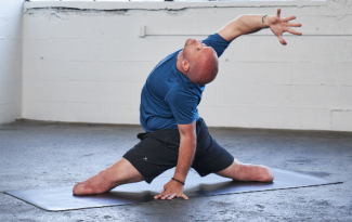 Dan Nevins, WWP warrior and yoga teacher