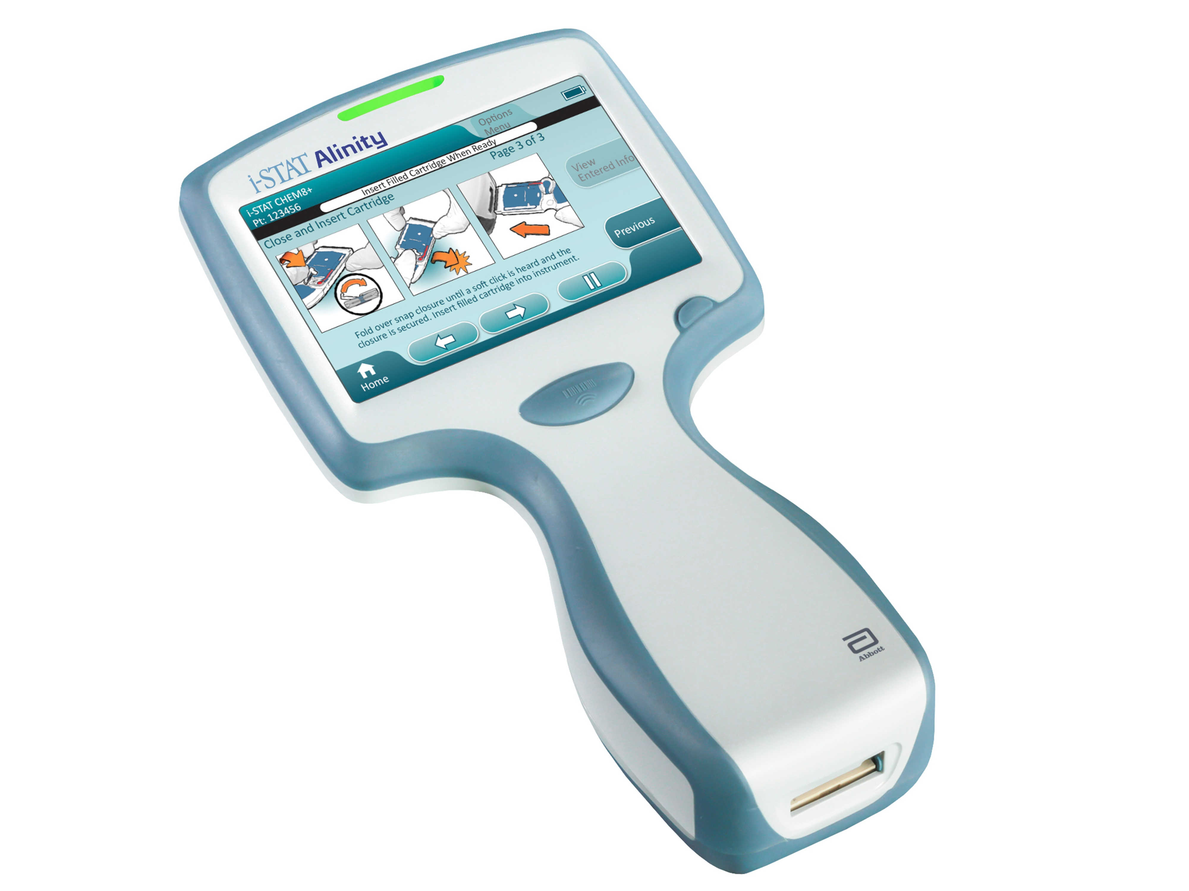 Abbott Announces CE Mark For I STAT Alinity A Pioneering Handheld