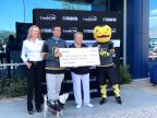 Credit One Bank and Vegas Golden Knights Foundation donation to Family Promise of Las Vegas and The Shade Tree