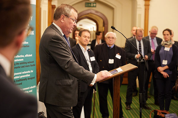 Western Power Distribution Chief Executive Robert Symons addresses Members of Parliament in the United Kingdom