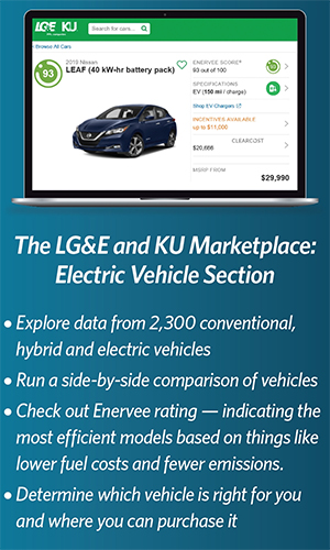 image of a laptop with the LG&E and KU Marketplace website