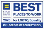 2020 Best Place to Work for LGBTQ Equality logo